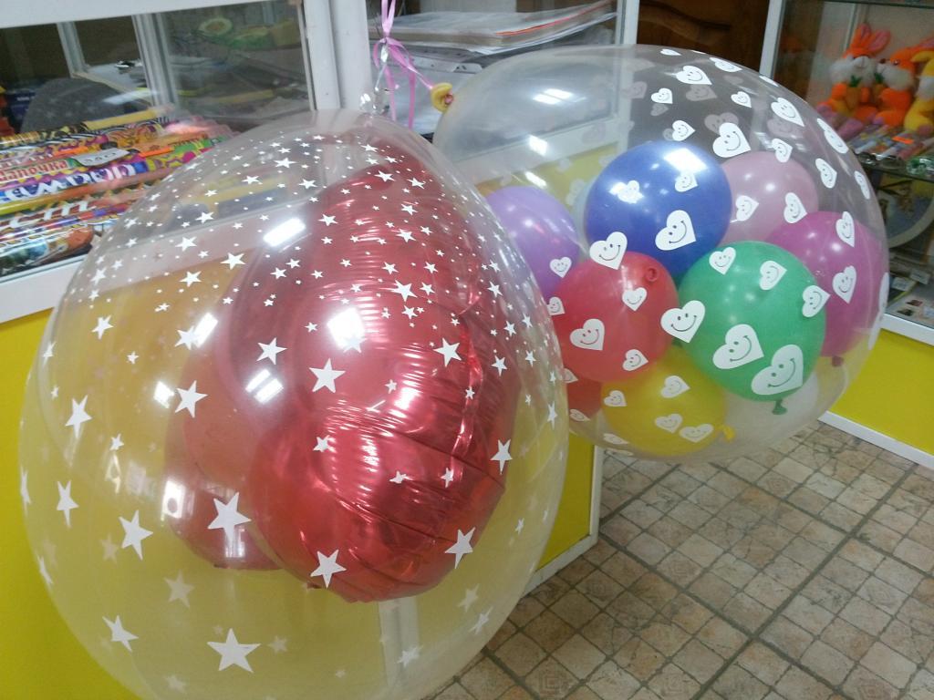 Гелиевые шарики своими руками